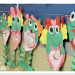 Froggy's First Kiss {Valentine's Day Craft}