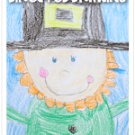 This is a picture of Current Directed Drawing Leprechaun