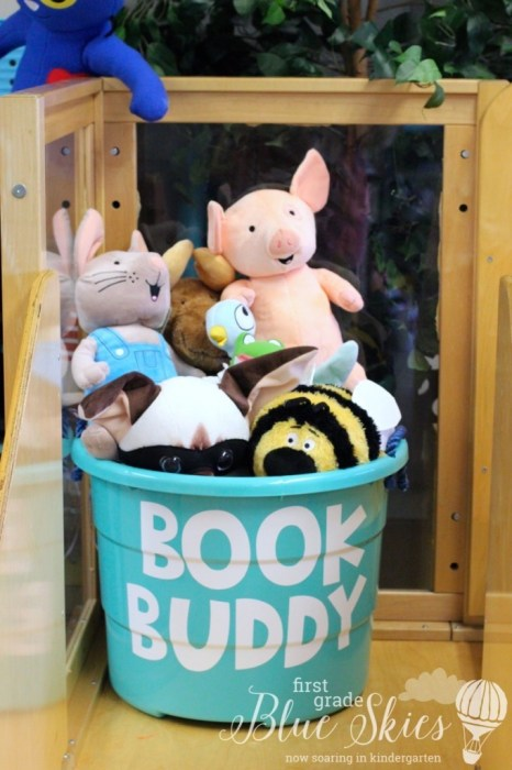 Book Buddy Bucket
