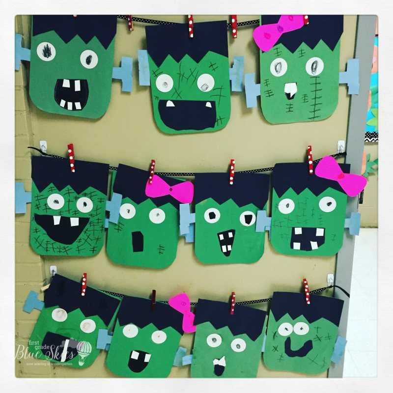 Monster Halloween Craft