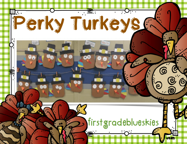 Turkey Craft Kindergarten Thanksgiving