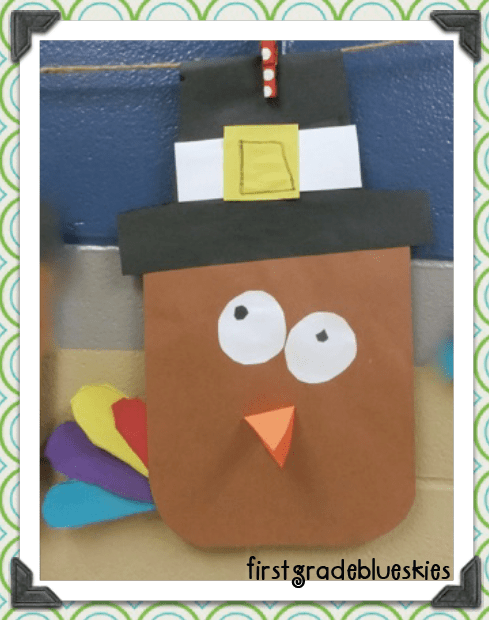 Turkey Kindergarten Craft