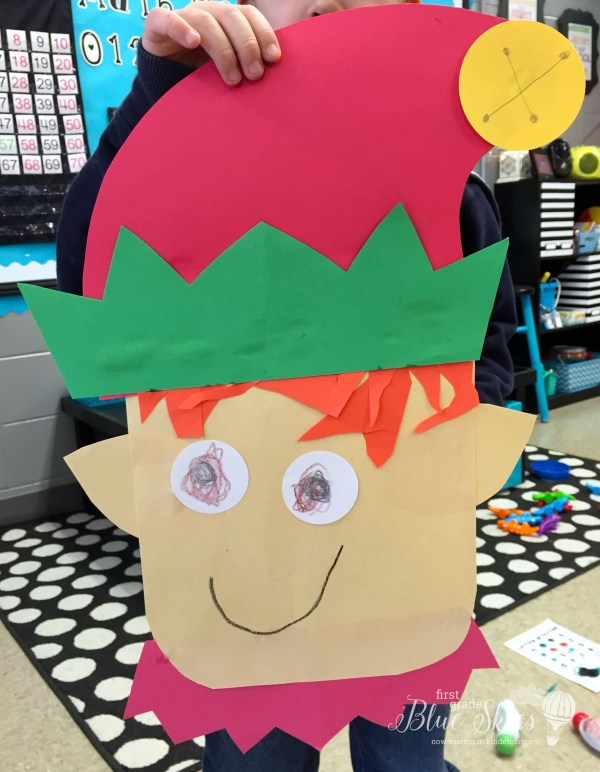first grade elf craft