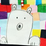 Polar Bear Collage Craft