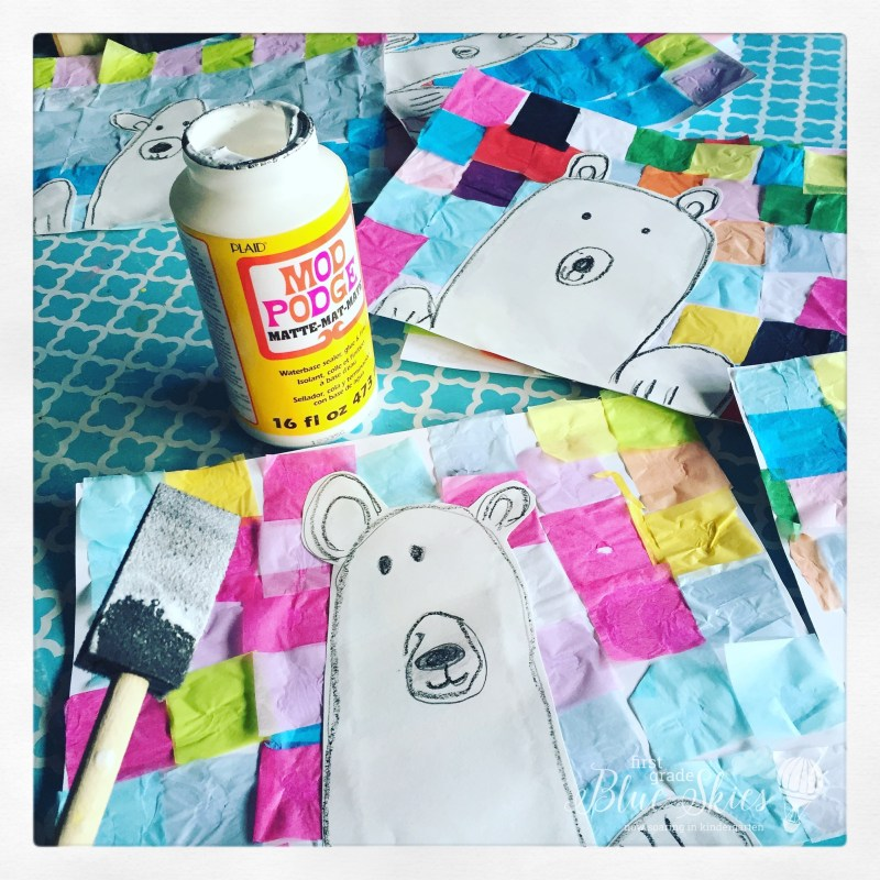 how to make a polar bear craft