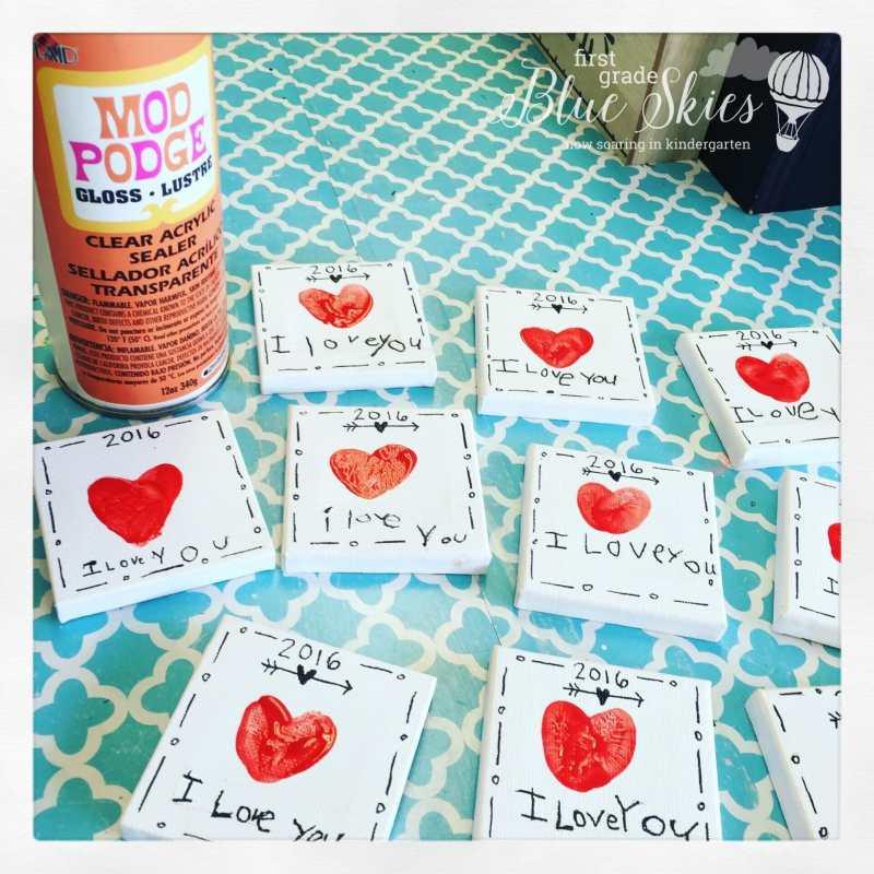 Mother's Day craft Kindergarten