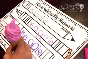 Name Writing Practice -Handwriting Ideas and Freebie