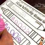 Name Writing Practice -Handwriting Ideas and Freebie