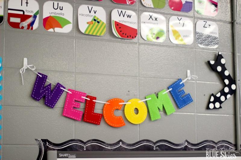 classroom welcome