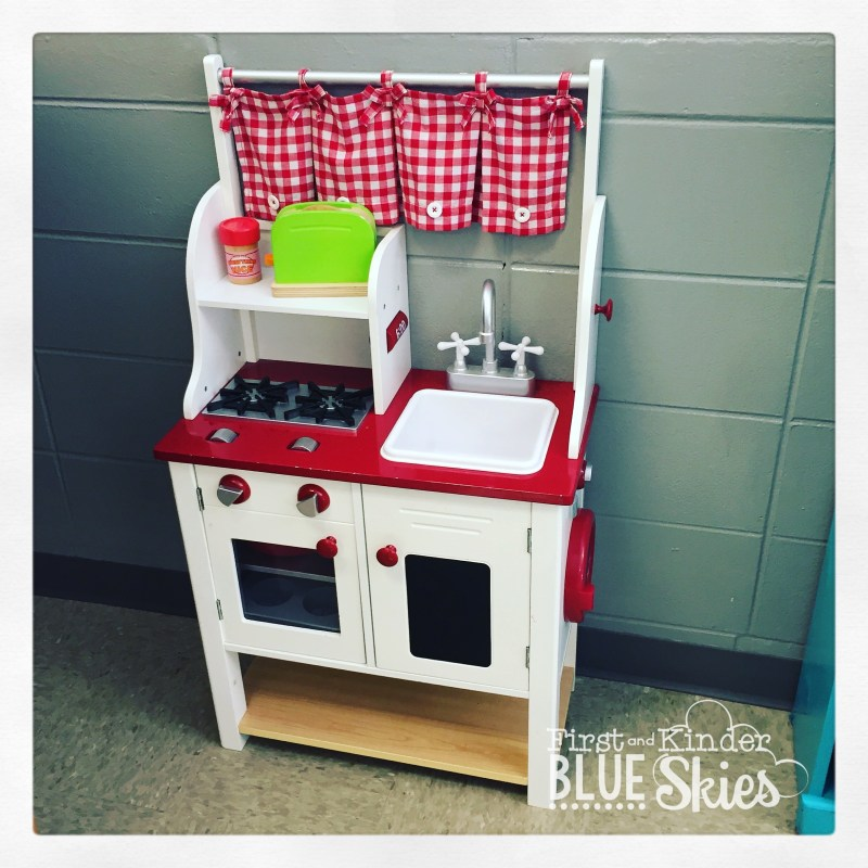 classroom play kitchen