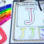 Name Handwriting for Back to School