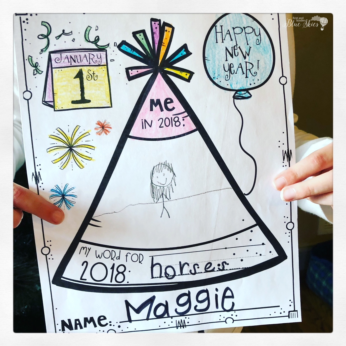 Happy New Year Writing Activities Freebie