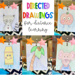 Directed Drawings for Distance Learning