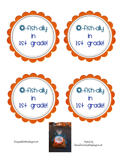 picture about O Fish Ally Printable known as O-Fish-Ally a Freebie - 1st Quality Blue Skies