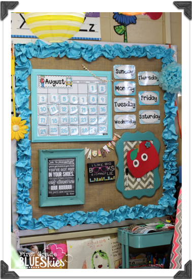 Calendar Design For Classroom : Classroom reveal meet the teacher freebie first
