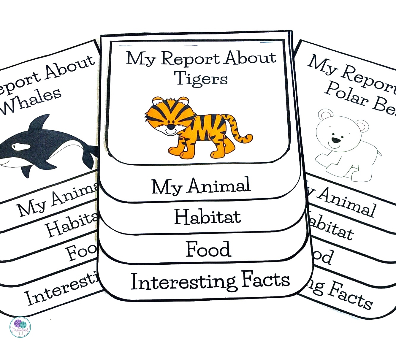 hight resolution of Animal Habitats - A First Grade Research Project - Firstieland