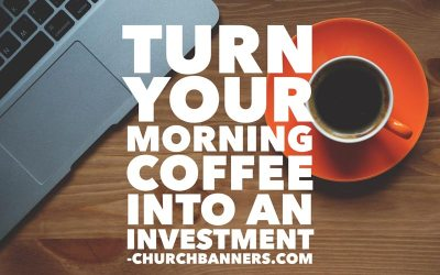 Turn your morning coffee into an investment