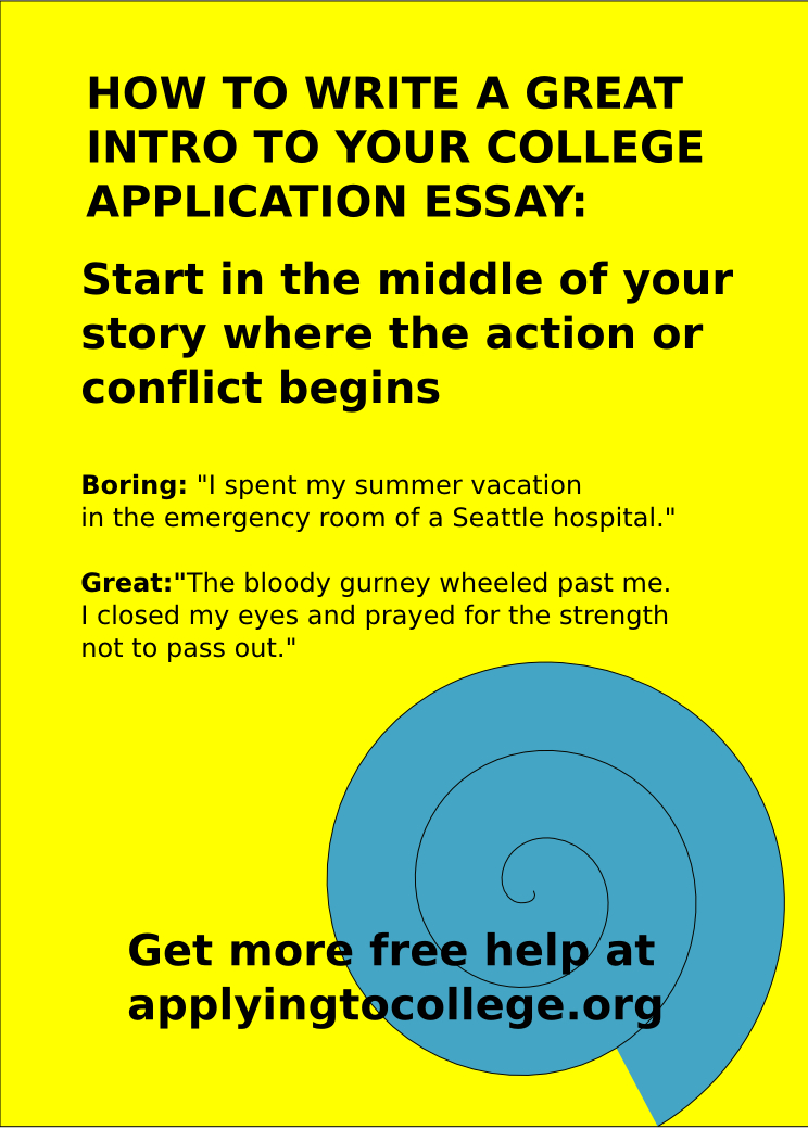 Connect with Me on Pinterest Tips for Writing a Great Intro to Your College Application Essay