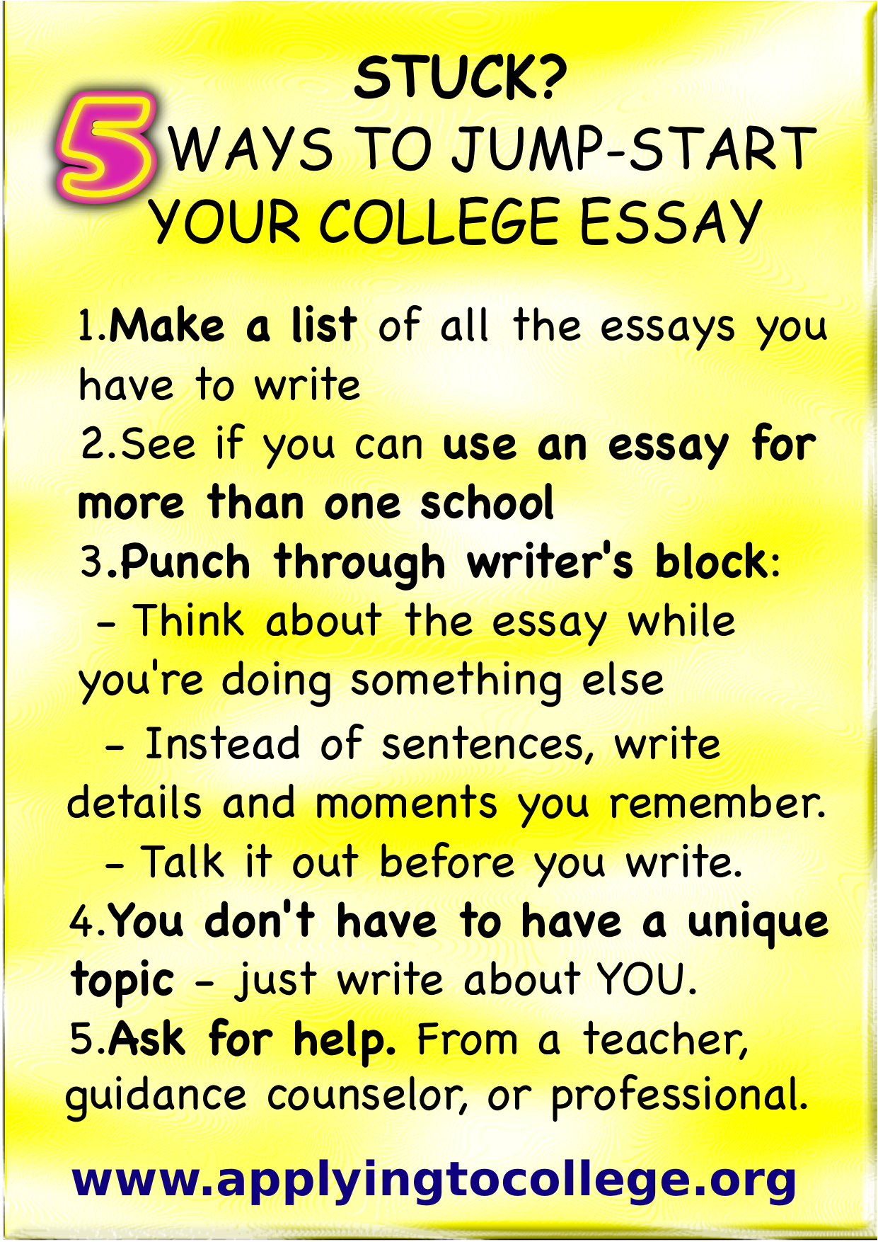 University Of Maryland Essay Examples