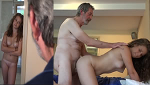 My grandfather is a great man and for that I give my pussy