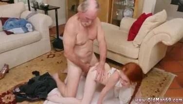 grandpa fucking big granddaughter redhead in doggy