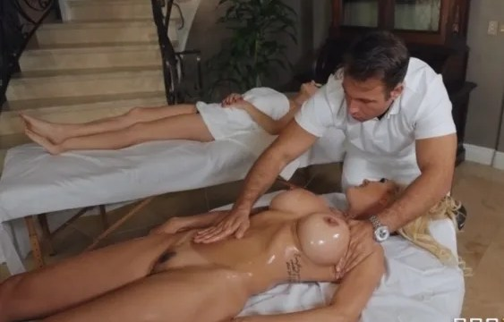 my mom is a whore and she fucked the masseuse