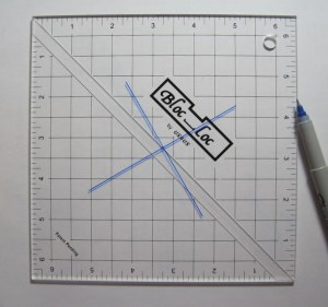 clear view of second line on square ruler