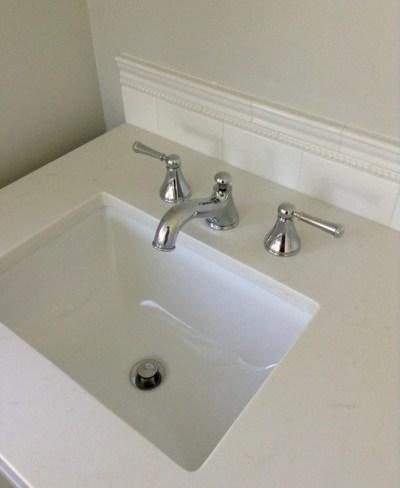 Week 11, vanity faucet