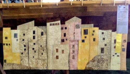 Random Windows, 46 x 28, by Hilde Morin of Portland OR