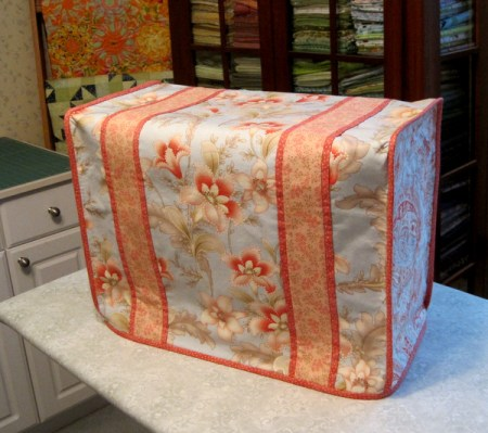 Susan S's sewing machine dust cover 2