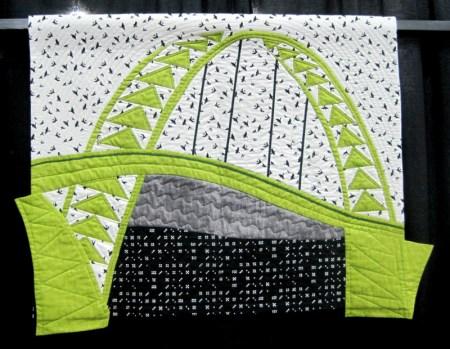 Bridge Challenge, Celery Green Crossing, Barbara Isom (Fremont)