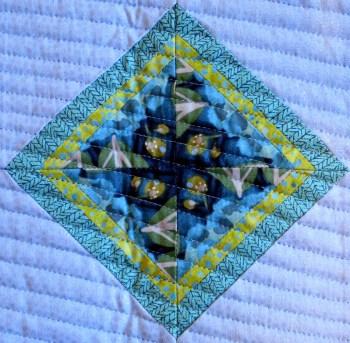 Billlie's Star, quilted center