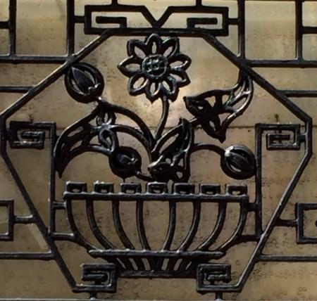 2 paris wrought iron balcony
