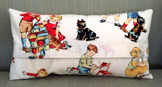 dog pillow back