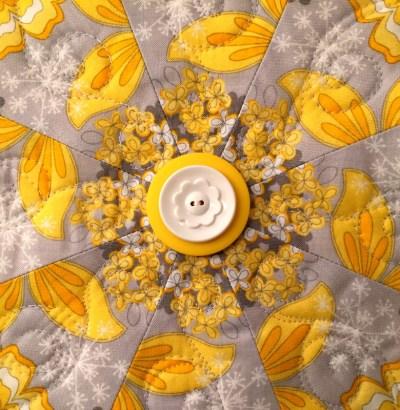 Sun Flower, buttons