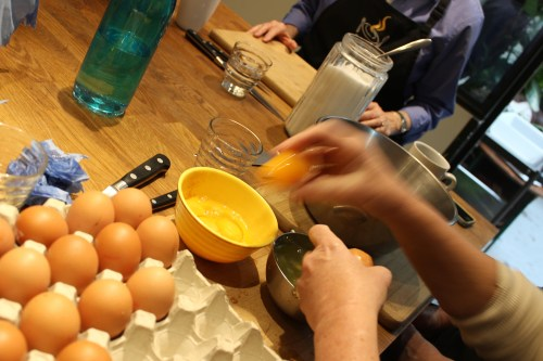 separating eggs for souffle