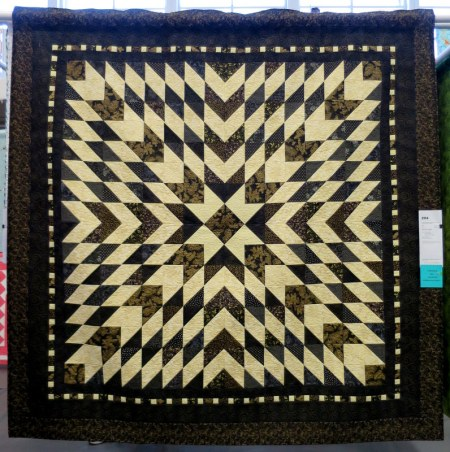 Star by Maureen Gallant quilted by Lisa Taylor