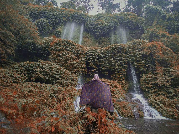 Air Terjun Benang Kelambu, sumber ig latifawardani04