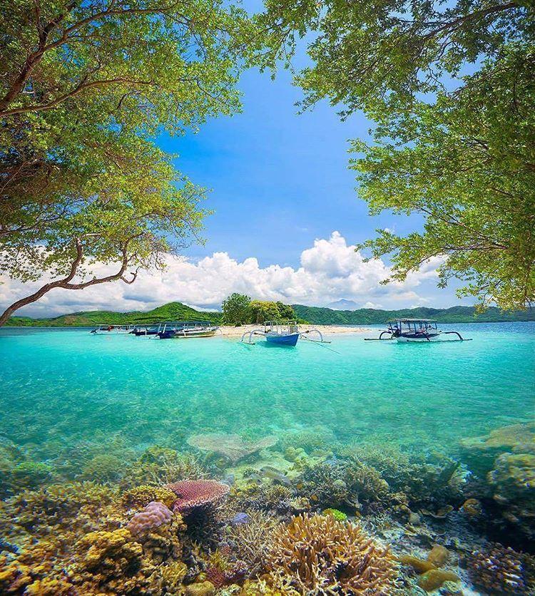 Kesukaan pemandu wisata, Gili Kedis Lombok, sumber ig travelspotindonesia