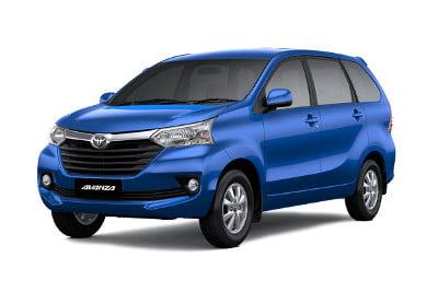 Sewa Mobil Toyota Avanza Biru