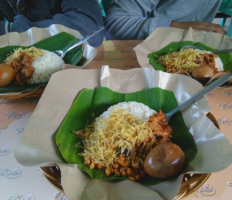 Nasi Puyung Lombok, sumber ig ajirusanto