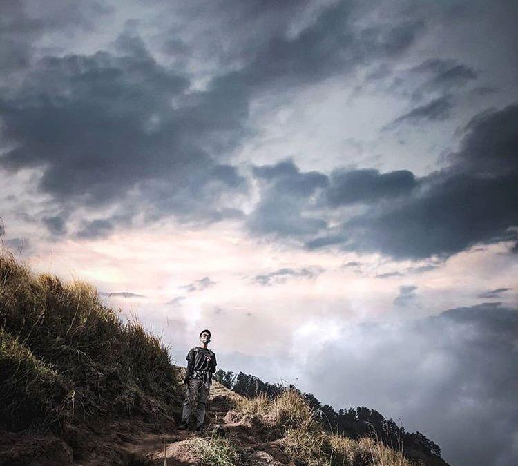 Hamparan Awan Putih di Bukit Nanggi Lombok