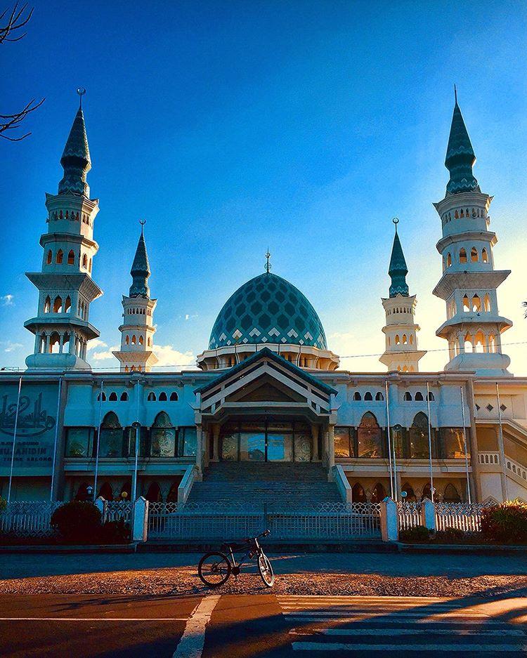 Masjid Al Mujahidin Selong, sumber ig hielda.dinasty