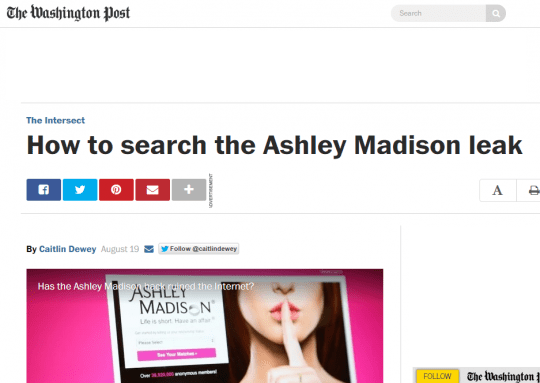 Screengrab, The Washington Post