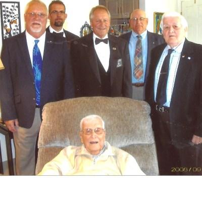 Bro. John R. Warfel 70 year recipient