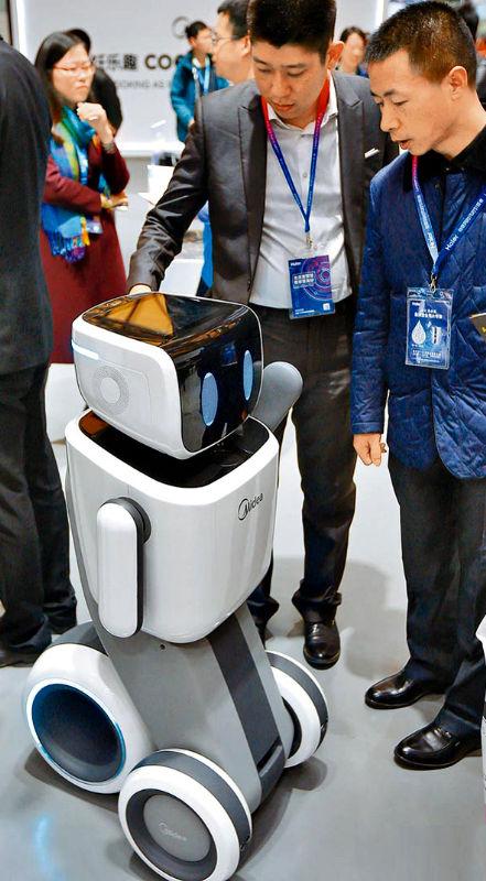 機器人生產商展示最新成果