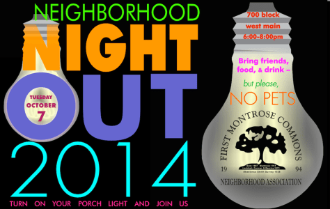 NEIGHBORHOOD NIGHT OUT