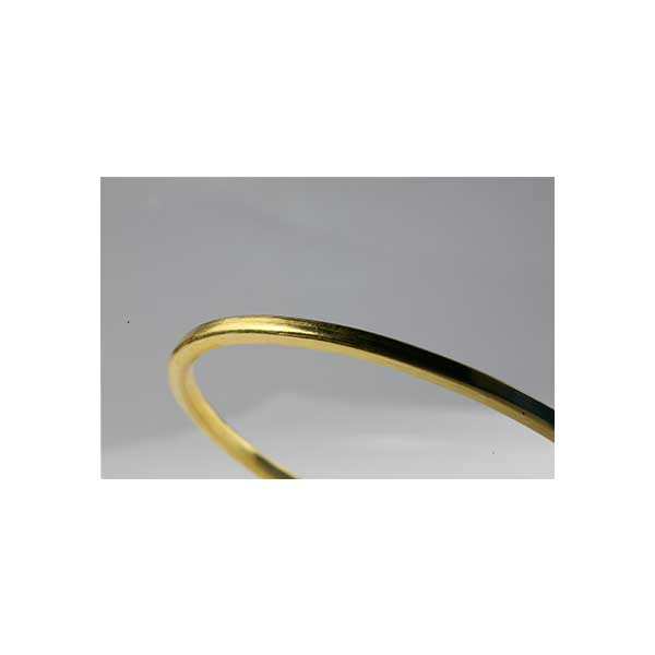 1 oz Gold Bracelet Polished Finish