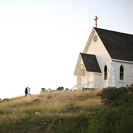 Chapel On A Hill (Photo)