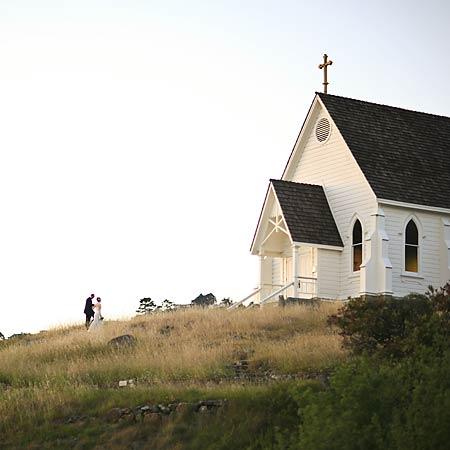 Chapel On A Hill (Photo)